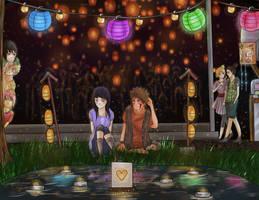 Art Trade- Lantern's by Immature-Child02