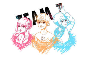 Team 7- Neon Colours by Immature-Child02