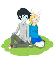 Adventure Time- FioLee by Immature-Child02
