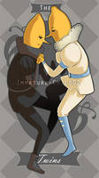 Adventure Time- Lemongrabs by Immature-Child02