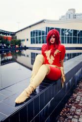 Dark Phoenix cosplay by kanamecosplay