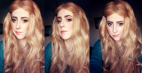 Cersei Lannister makeup test by kanamecosplay