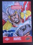 Upper Deck Marvel Thor Sketch Card by aldoggartist2004