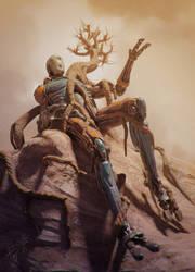 Abandoned Robot by RafaCM
