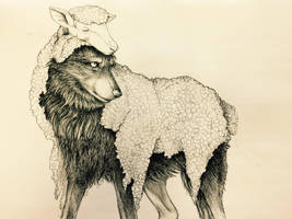 Wolf in Sheep's Skin by Foxleopard