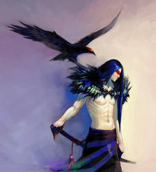 Raven by Loulise