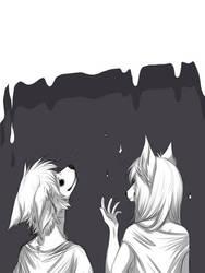 Furry x Februaryart by SleepyWolfArts