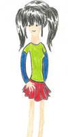 Nameless Girl Stupid Draw by SayokoHattori