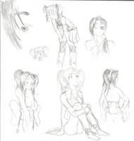 Kyubei sketches by SayokoHattori