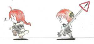 Gintama - DRRR parody by SayokoHattori