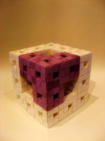 Menger Sponge by Magnium