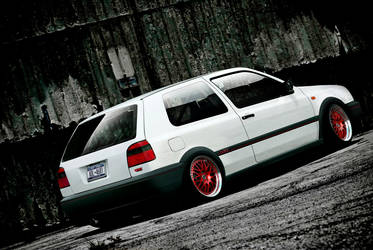 VW Golf mk3 by Kubka