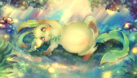 Dreamy Forest by littlepolka