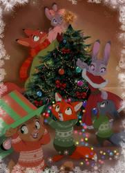 Happy Christmas by littlepolka
