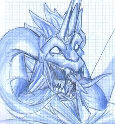 Diablo's Portrait by Dragmon