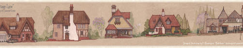 Cottage Lane, Village of Emerald Grove by Built4ever