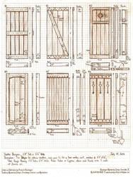 Six Exterior Shutter Designs by Built4ever