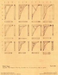 Twelve Bracket Designs by Built4ever