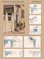 Doorway Details in Charleston, South Carolina by Built4ever