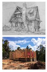 House 323 Custom Residence in Texas by Built4ever