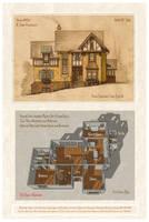 House 376 Tudor Farmhouse by Built4ever