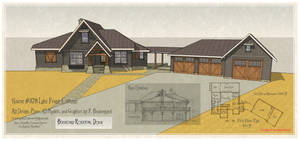 House 378 Rendering and Plan by Built4ever