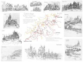 Castles and Villages Area Map by Built4ever