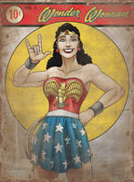Wonder Woman 1941 by DragonessLife