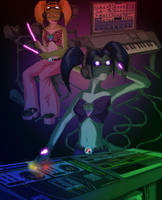 Rave Girls by JessicaRaven