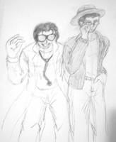 Dr Insano and Linkara by JessicaRaven