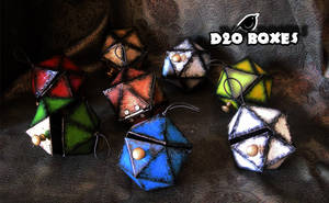 D20 BOXES by MithriLady