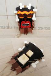 Uka Uka mask - wood replica 1:1 by MithriLady