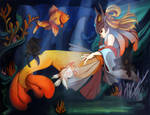 LOL: Goldfish Nami by jayoh28