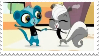 Pepper and Sunil Stamp by runawaymintyg3