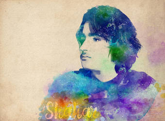 Shahar watercolor-graphic by NaamaYM
