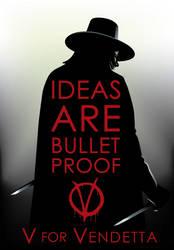 V For Vendetta Tribute by RobertoJOEL1307