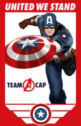 Captain America: Civil War (United We Stand) by RobertoJOEL1307