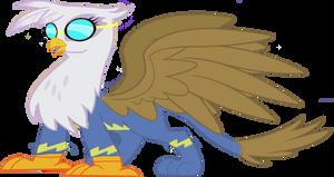 Gilda as a Wonderbolt flyer by Rarity6195