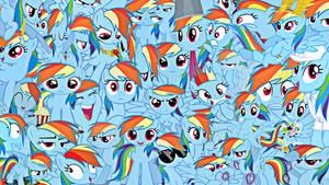 Rainbow Dash Wallpaper by Rarity6195