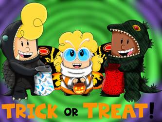 CU - Trick or Treat! by Jackie-SugarSkull