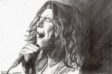 Robert Plant by DrawnByYou