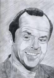 Jack Nicholson by MayerViktor