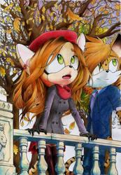 [WIP II] Strip x Elisabeth: Arbores autumnales by Dash-The-Cheetah
