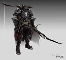 Commission: Molek by JNickBlack
