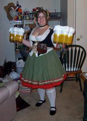 German Beer Maid by cozmictwinkie