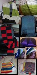 Knittings by cozmictwinkie