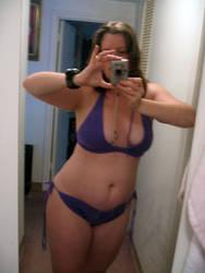 Knit Bikini by cozmictwinkie