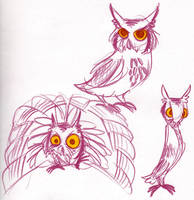 Crazy Japanese Owltober by cozmictwinkie