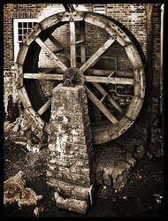 Old Mill Wheel by Photo-Cap