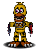 FNAF Withered Chica Update v2 by FredEdits2003